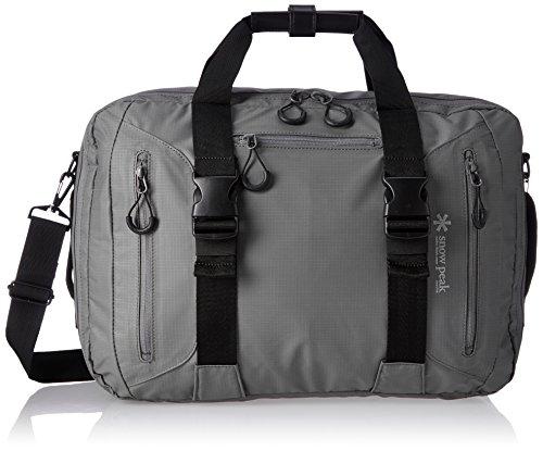 [スノーピーク] ビジネスバッグ 3wayビジネスバッグ A4収納 3WAY ハンドバッグ ショルダーバッグ バックパック UG-729GY GY グレー