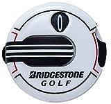 BRIDGESTONE(ブリヂストン) BRIDGESTONE GOLF スコアカウンター  GAG408 ホワイト 画像