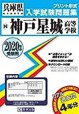 神戸星城高等学校過去入学試験問題集2020年春受験用 (兵庫県高等学校過去入試問題集)