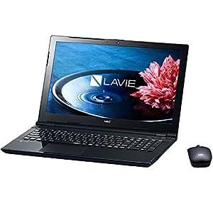 【年賀状ソフト 筆ぐるめ 付】2016 NEC LAVIE Windows10 Celeronデュアルコア1.6GHz 4GB 500GB DVDスーパーマルチ 高速無線LAN IEEE802.11ac/a/b/g/n Bluetooth USB3.0 HDMI webカメラ SDカードスロット ハイレゾ音源再生機能 10キー付キーボード 15.6型LED液晶ノートパソコン Bluetoothレーザーマウス付 (Office なし)