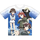 ストライクウィッチーズ OVA ドライTシャツ ラッピング (全面プリント) サイズ:M