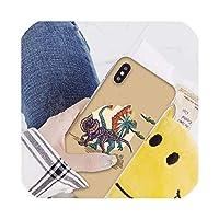 かわいい漫画恐竜Coqueシェル電話ケースIphone 8 7 6 6 sプラスX Xs最大5 5 s se Xrカバー、iphone Xrのため、A4