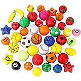Kids ToyボールMiniスポーツストレスボールSqueeze Foamフルーツおもちゃ24pcs Assorted Packingカラー形状トレーニングおもちゃのさまざまなサイズ4 cm-8 cmボール不安のレリーフRelaxation ADHD Party Favor Toy