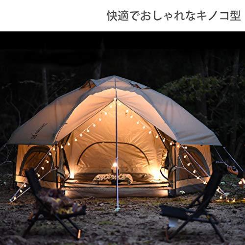 画像2: 【コスパ良し】DODワンタッチテントおすすめ3選 設営・手入れ・たたみ方も解説!