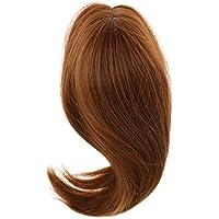Lovoski 人形ウィッグ 28cm  長髪 かつら ヘアピース 18インチ アメリカンガールドール対応 DIY アクセサリー 全6色 - コーヒー