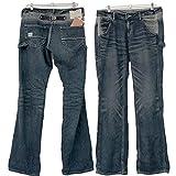 ■別注KF色■ベティスミス パンツ 大きいサイズ Betty Smith ベティスミス ジーンズ パンツ ガチャパンツ ペインター ストレート ジーパン デニム L+ 2L 3L 4L 5L [BS-BAW2066+KF] (3L)