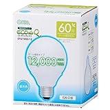 オーム電機 電球形蛍光灯 エコデンキュウ G形 E26 60形相当 昼光色 [品番]06-0262 EFG15ED/12
