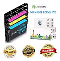 Epson 802 インクカートリッジ (製造/再梱包) Epson WF-4720 WF-4730 WF-4734 WF-4740プリンター用 標準プラス機能 5-PACK Standard Plus, 2 BK, C, M, Y