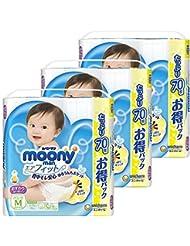 【Amazon.co.jp】【ケース販売】ム-ニ-マン パンツ M おすわり・はいはい(5~10kg) エアフィット 210枚(70枚×3)