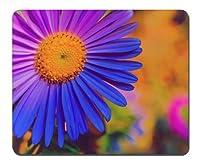 美しい紫色の花-002 - マウスパッド(210x260x3mm)