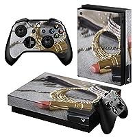 igsticker Xbox One X 専用 スキンシール 正面・天面・底面・コントローラー 全面セット エックスボックス シール 保護 フィルム ステッカー 000949