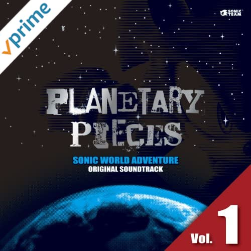 SONIC WORLD ADVENTURE ORIGINAL SOUNDTRACK PLANETARY PIECES Vol. 1