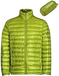 (レスマート)Lesmart メンズ ダウンジャケット 軽量 アウトドア 登山 防寒 防風 ウルトラライト コート