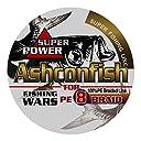 Ashconfish ライン 釣り糸 X4 X8 150m 単色 マルチカラー 8本編み/4本編み【0.4号~10号 各号選択可】8編/4編 ホワイト