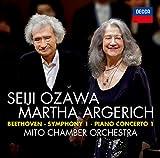 ベートーヴェン:ピアノ協奏曲第1番&交響曲第1番 画像