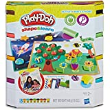 Play Doh - Shape & Learn - Activity Mats and More Playset - Inc 9 Accessories & 4 Cans of Compound - Ages 2+