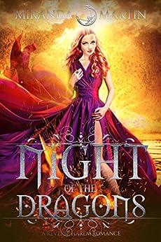 Night of the Dragons: A Reverse Harem Romance (Red Planet Dragons of Tajss) by [Martin, Miranda]