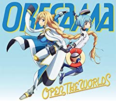 OPEN THE WORLDS♪ORESAMAのCDジャケット