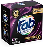 Fab Sublime Velvet Laundry Detergent Washing Powder, 900g