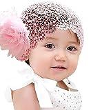 Amazon.co.jpYideaHome ヘッドバンド ヘアバンド ターバン ベビー 髪飾り イヤーマフ風 フラワー かわいい 子供服 出産祝い