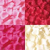 【OVERLAP】【1200枚】【4色ミックス】フラワーシャワー 花びら 結婚式 2次会 パーティ 誕生日 お祝い パーティグッズ