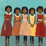 The Dance by Rebeca Kinkead子African American印刷ポスター24 x 24