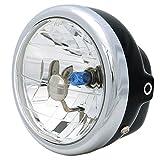 Big One(ビッグワン) バイク ヘッドライト ケース付属 PH7バルブ 交換 汎用 8600