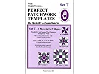 Set T Perfect Patchwork Template 3 Piece Set by Marti Michell by Michell Marketing