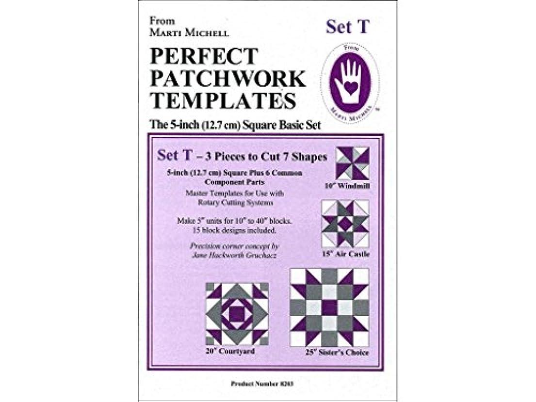 妊娠した大工前にSet T Perfect Patchwork Template 3 Piece Set by Marti Michell by Michell Marketing