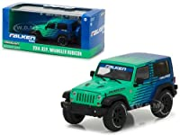 2014 Jeep Wrangler Rubicon Falken Tires 1/43 Diecast Model Car by Greenlight サイズ : 1/43 [並行輸入品]