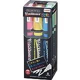 三菱鉛筆 水性ペン ブラックボードポスカ 中字 8色 PCE2005M8C