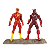"DC Multiverse Earth -52 Batman (Red Death) and The Flash 7"" Action Figure Multipack"