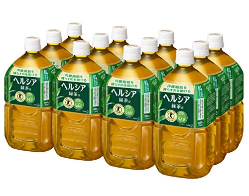 [トクホ] [訳あり(メーカー過剰在庫)]ヘルシア 緑茶 1.05L×12本