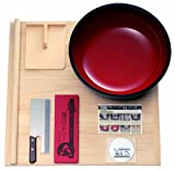 豊稔企販 普及型麺打セット 大 そば・うどん麺打入門DVD付 A-1260