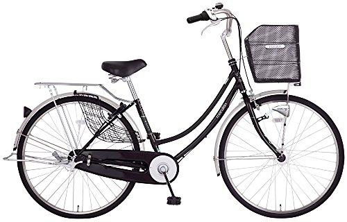 marukin(マルキン) 自転車 26型レイニープレミアホーム内装3段 LEDオートライトBAA ブラック MK-17-016