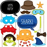 Under The Sea Critters - Photo Booth Props Kit - 20 Count