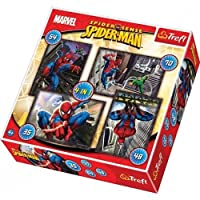 Trefl 4-in-1 Puzzle Spiderman Spiderman