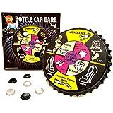 ' barwenchゲーム' StripteaseボトルキャップThrow Dartsパーティゲーム磁気、ボトルキャップDart Board