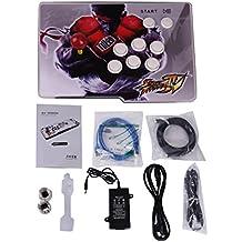 [英語版]ビデオゲームコンソール、アーケードゲーム機 本体 アーケードゲーム 筐体 基板 1299クラシックゲーム、アーケードゲーム 実機 1プレーヤーパンドラの箱5S Pandora's Box 5s ホーム Arcade アーケードコンソール1299ゲームオール1ジャムマPCB、シングルスティック最新デザイン、交換ボタン、電源HDMIケーブル、アーケードゲームマシンコレクション