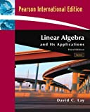 Valuepack:Linear:Algebra and its Applications with CD-ROM, Update:International Edition with MML student Access Kit/Student Study Guide Update.