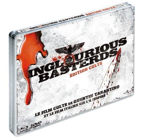 Inglourious Basterds (boîtier métal) [Blu-ray]