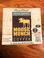 Harry & David Moose Munch Maple Vanilla 18 ct K-cups [並行輸入品]