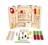(ロータスライフ)LOTUS LIFE おもちゃ 知育玩具 木製 玩具 大工さんセット 木のおもちゃ 男の子 3歳 から