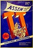 1954年オランダT T Motorcycle Race–プロモーション広告ポスター 8.5