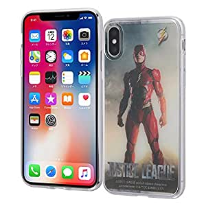 iPhone X ジャスティス・リーグ TPUケース+背面パネル/フラッシュ