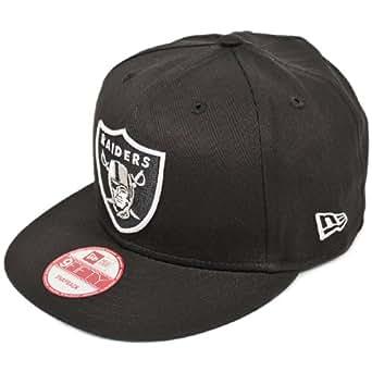 NEWERA(ニューエラ) 9fifty スナップバックキャップ NFL オークランド レイダース ブラック