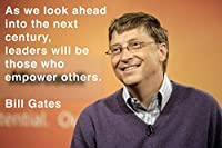 """Bill Gates ( quotes7) Getやる気のポスター12x 18"""""""