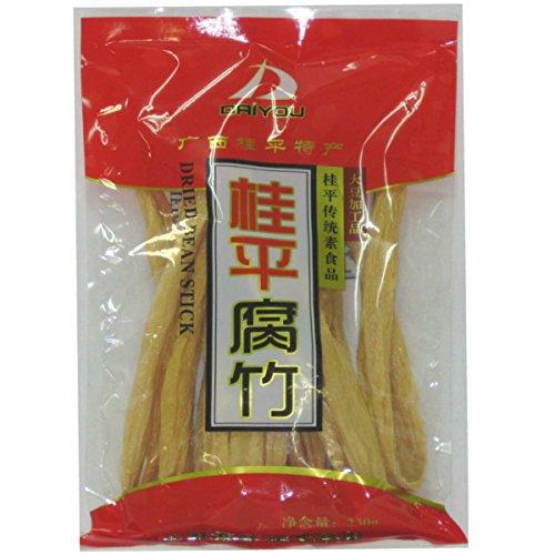 大洋物産 中国桂平腐竹 ゆば 大豆製品 乾燥フチク ヘルシー湯葉 【中華食材】230g