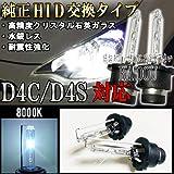 日産 デイズ ハイウェイスター H25.6~ B21W ヘッドライト D4C D4S バルブ 8000k 純正交換タイプ ロービーム HID仕様車