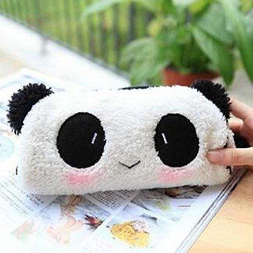 BIGOGO かわいい パンダ ペンケース 鉛筆袋 化粧バッグ 収納ポーチ おしゃれ